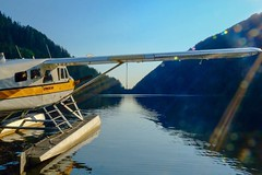 Isabel (otterdrivernw) Tags: prattwhitney pt6 turboprop turbo turbine beaver dehavilland isabel cascaderange cascades lakes mountains xseries fujix xf1655 xt2 fujifilm