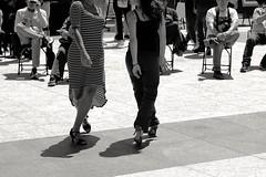 Tango D'amour (勇 YoungAdventure) Tags: san francisco サンフランシスコ 샌프란 시스코 舊金山 nikonnikkorpc105mmf25 nikkor105mmf25 sf unionsquare ybgfestival tango dance dancer milonga