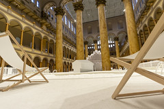 The BEACH at FunhouseDC (johngoucher) Tags: approved architecture snarkitecture funhousedc washingtondc nationalbuildingmuseum chairs thebeach artwork installation exhibit museum architecturalphotography sonyimages sonyalpha alphacollective rokinon12mm wideangle