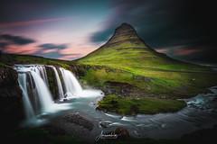 Magic Sky Kirkjufell (AmaurieRaz) Tags: sony sonya9 kirkjufell mountain landscape landscapephotography composite longexposure iceland travel