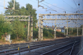 Stafford Up side: Stafford South Junction approaching Trent Valley Junction No.1