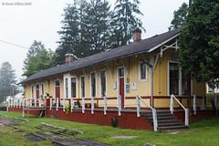 Misty Depot (nrvtrains) Tags: durbin depot westvirginia durbinandgreenbriervalley unitedstates us