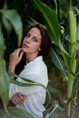 Elisa (Luca Ricagni) Tags: portrait portraiture ritratto ritrattistica nature natureinspiration inspiration models model girl girls d800 nikon nikkor 50mm 50 lucaricagni luca wwwlucaricagniit green ricagni