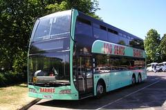 Barnes Coaches, Swindon. PN10 FOA (KK70088) Tags: bus coachoperator doubledecker barnes volvo optare pn10foa