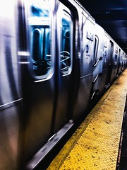 (kateb0625) Tags: locations gypsy citystreets transportation citylife city eos speed underground night places people wanderlust tourist explore travel subwaystation subway newyorkcity
