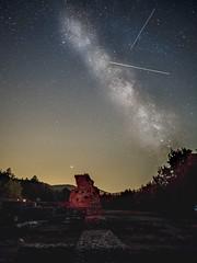 The Milky Way and shooting stars (Tóth Atti) Tags: éjszaka rom csillaghullás tejút ég csillag pilis kolostor esztergom komáromesztergom hungary hu milkyway sky star stars shootingstar night nightsky