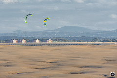Far out man (alundisleyimages@gmail.com) Tags: kitesurfing leasowe wirral wallasey watersports landscape wales moelfamau clwydhills distance vista weather beach coastal merseyside england pastime fun hobby northwales houses