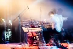Drummer | Saarang 2018. (Vijayaraj PS) Tags: india asia artist art chennai longexposure indoor slowshutterspeed shadow light people 2018 blur motion artisticsense bandperformers band guitar drums drummer