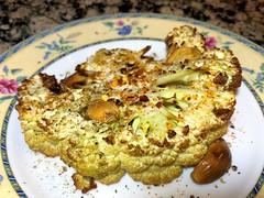 Roasted Cauliflower Steak (LaTur) Tags: foodie vegan eater dcist dc cauliflower steak