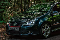 DRC MK5 2 (RevCheck Photography) Tags: volkswagen golf gti mk5 car vehicle transport motoring driving road outside outdoor nature tree trees forest love hobby colout green grey red