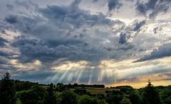 Cloud Breaks (Eric@focus) Tags: dxonikfilters adobecameraraw sunrays crepuscularrays shiningthrough dramatic clouds sunbeams
