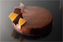 Ultime, take 2 (Pitzpootzim) Tags: chocolate vanilla pierreherme mousse cake layercake french patisserie bakery