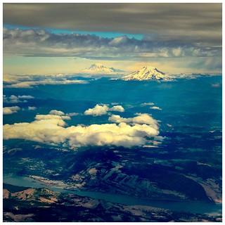 Going Home: Mt. Adams and Mt. Rainier