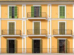 palma placa major (Cor Oosterbeek) Tags: palma mallorca placa major balcony balkon balkons balconies architectuur architecture
