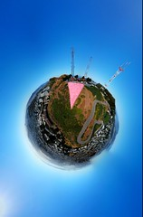 Pink Triangle SF (samayoukodomo) Tags: djimavicpro mavicpro drone takingthedroneouttogethigh quadcopter aerialphotography aerialview dronephotography sanfrancisco 360 360° sphere photosphere tinyplanet littleplanet dronepointofview birdseyeview droneview aerial