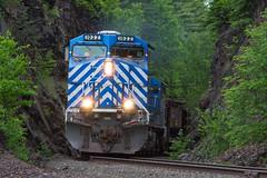 Rock Cut Railroading (Joseph Bishop) Tags: lsi ge ac4400cw trains train track tracks railfan railroad railway rail rails eaglemillsjunction eaglemills michigan uppermichigan