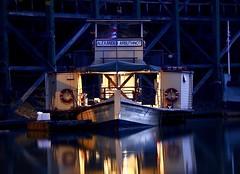 Echuca Wharf (babrey-au) Tags: echuca paddlesteamer australia murray river murrayriver canon echucawharf echucablues echucamoama longexposure tourismvictoria victoria alaxanderarbuthnot boat