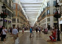 Málaga. Calle Larios. Andalucía. (lameato feliz) Tags: málaga callelariosmálaga calle