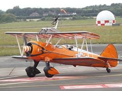 SE-BOG Boeing Stearman (Aero Super Batics) (Aircaft @ Gloucestershire Airport By James) Tags: gloucestershire airport sebog boeing stearman aero super batics egbj james lloyds