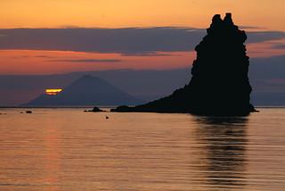More Vulcano Sunset