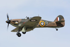 LF363 Hawker Hurricane Mk IIc EGVA 18-07-15 (MarkP51) Tags: lf363 hawker huricane mkiic raf battleofbritainflight warbird fairford airshow gloucester england riat royalinternationalairtattoo military aircraft airplane plane image markp51 nikon d7200 sunshine sunny aviationphotography