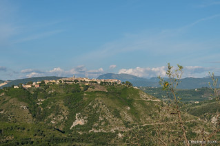 Sabina Landscapes. The medieval town of Salisano (Northern Lazio, Italy).