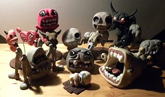 Artist: Awasai (The Binding Of Isaac - Sculptures & Artisan_) Tags: edmundmcmillen thebindingofisaac dolls sculpture game art crafting handmade handicraft