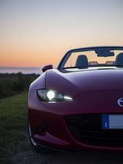_8160102-1_st (eugeniomaniero) Tags: mazda miata mx5 roadster olympus omd car sunset micro four thirds lumix