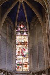 Toulouse - Cathédrale Saint-Etienne (Claude Guigon) Tags: pentax toulouse saintetienne cathédrale architecture vitrail bâtiment arche