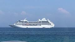 Cruise Ship (RobW_) Tags: cruise ship sirena zakynthos greece tuesday 14aug2018 august 2018
