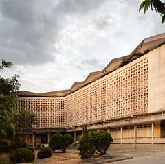 Hué University (Chimay Bleue) Tags: ngo viet thu hue architecture architectural screen block breezeblock midcentury modern modernism modernist design photography vietnam