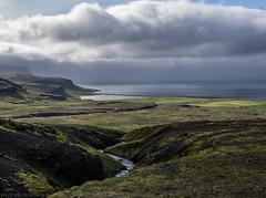 "Not ""holiday-worthy"" (katrin glaesmann) Tags: iceland unterwegsmiticelandtours photographyholidaywithicelandtours snæfellsnes peninsula coast sea river clouds"