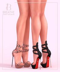 [BREATHE]-Jori Heels ([Breathe]) Tags: breathe secondlife mesh heels slink maitreya belleza pocketgacha pocketshop