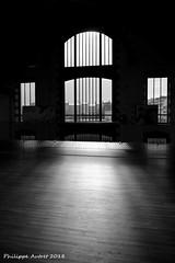 Fenêtres sur la ville (philippe.autret) Tags: capucins brest plateau plateaudescapucins contrejour noirblanc noiretblanc