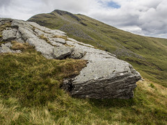 Ben Lomond - August 2018 (GOR44Photographic@Gmail.com) Tags: ben lomond loch peak rocks people gor44 green grass cloud olympus omdem5 1240mmf28 stirling scotland munro