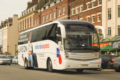 De Courcey, Coventry - FJ13 EAA (peco59) Tags: fj13eaa md17 volvo b9r b9 caetano levante psv pcv decourceycoventry coach nationalexpress
