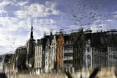 Pastel, Strasbourg bord de l'Ill. (boomer_phil) Tags: strasbourgfars eau reflets ville nuages bâtiments couleurs extérieur nikon d850 beautifulexpression flickrelite strasbourg lill flickrunitedaward