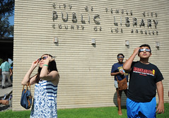 Temple City Library - Solar Eclipse Viewing Party (CEO_Countywide_Communications) Tags: losangelescounty solar eclipse 2017 science stem event viewing party reading eye protection
