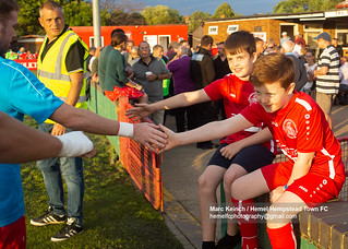 Hemel Hempstead Town FC vs Hungerford Town FC; National League South