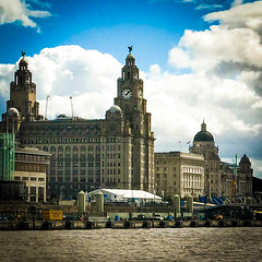 The three Graces, Liverpool. (David JP64) Tags: mersey liverpool three graces