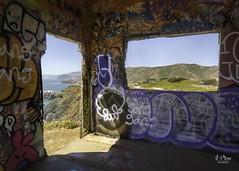 American Graffiti (jen_moss) Tags: graffiti marin pointbonitalighthouse marinheadlands california marinheadlandsnationalpark
