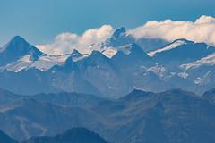 The highest peak of Austrian alps, Grossglockner