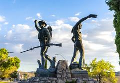 Kingman WWI Memorial (dcnelson1898) Tags: kingman arizona worldwari memorial statue desert sculpture usa unitedstates southwest america route66 interstate40