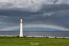 Seaburn Rainbow (robinta) Tags: seaburn sunderland lighthouse architecture sea ocean landscape seascape clouds storm dramatic ngc canon sigma 200d moody sigma1770 rainbow england