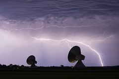 BANG!!! (daitoZen) Tags: germany bavaria night thunder lightning storm cloud light parabolic antenna reflector dishantenna communication radio waves sky anybodyoutthere ° bayern oberbayern weilheim raisting erdfunkstelleraisting gewitter blitz antenne parabol kommunikation