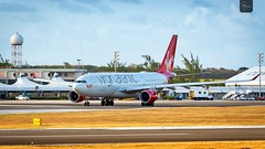 Virgin Atlantic | G-VMNK | Airbus A330-223 | BGI (Terris Scott Photography) Tags: pw4168 aircraft airplane aviation plane spotting nikon d750 tamron 70200mm f28 travel barbados jet jetliner virgin atlantic airbus a330 200 gatwick