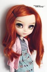 Nindshin - Pullip Pulliphine (·Yuffie Kisaragi·) Tags: doll pullip pulliphine nindshin obitsu rewigged rechipped