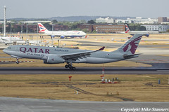 A7-AFZ LHR 28.7.18 (Mike stanners) Tags: freighter a7afz a330243f qatarairways
