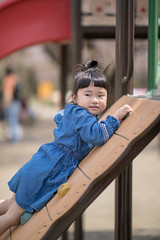 Little girl asking for help at playground (Apricot Cafe) Tags: img86262 asia asianandindianethnicities canonef85mmf14lisusm healthylifestyle japan japaneseethnicity adolescence candid carefree casualclothing charming cheerful chibaprefecture child childhood colorimage day enjoyment girls happiness helping innocence layingonfront leisureactivity lifestyles nature oneperson outdoors people photography playequipment playground preschoolage publicpark realpeople smiling springtime sustainablelifestyle sympathy threequarterlength toddler weekendactivities ichiharashi chibaken jp