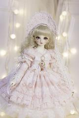 Trinity - Rosaline Pink (Le-miel_Sojeong) Tags: lemiel bjd bjddress balljointeddoll volks volksdoll sd sdm msd dress doll dollphoto dollclothing handmade